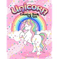 Unicorn coloring book for kids: Unicorn coloring book for kids ages 4-8. 49 cute unicorn coloring pages for relaxation. Unicorn activity books for ... activity book for boys, girls and toddlers.