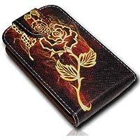 Funda para móvil con tapa - diseño No. 4 - Funda de piel con tapa para Samsung S6810 - S6810P Galaxy Fame