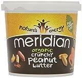 Meridian Beurre de Cacahuète Biologique Lisse 1kg (Lot de 1)