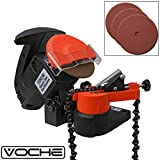 Voche® 220W Electric Bench Top Chainsaw Blade Chain Sharpener with 3 Sharpening Grinding