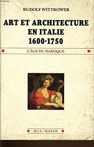 Art et architecture en Italie : 1600-1750
