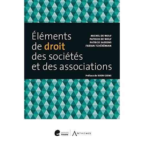 Elements de Droit des Societes et des Associations