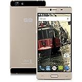 "Elephone M2 - Smartphone libre 4G Lte (Pantalla 5.5"" IPS, Cámara 13.0 Mp, Dual Sim, 32 GB, Android 5.1, MT6753 Octa Cores 1.3GHz , OTG, Touch ID, Hotspot WIFI BT4.0 GPS) (Dorado)"