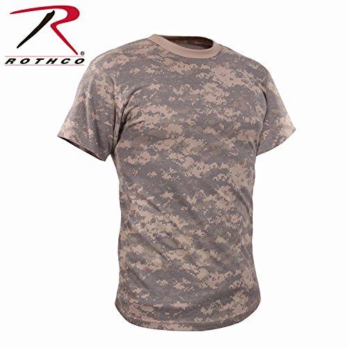 Rothco Vintage T-Shirt, ACU Digital Camo, Large (Acu Camo Digital T-shirt)