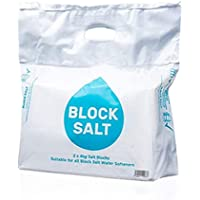 Harvey Salt Block Water Softener Suitable for All Water Softeners Natural UK (1 Pack 2 Block) (1 Pack 2 Block)