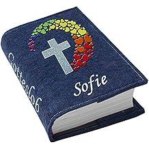 Großdruck Gotteslob Hülle Gotteslobhülle Leder Grün Dunkelgrün Für Gebetbuch Bücherzubehör