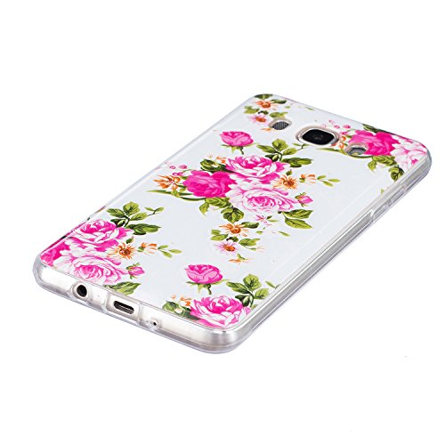 Qiaogle Telefon Case - Weiche TPU Case Silikon Schutzhülle Cover für Apple iPhone 5 / 5G / 5S / 5SE (4.0 Zoll) - XS33 / Wow! Brains! Your Mind is Free! XS28 / Rose