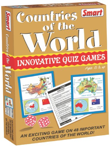 Smart Countries of The World Puzzle (Multi-Color)