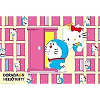 Comparador de precios 1000 piece jigsaw puzzle Doraemon × Hello Kitty anywhere door (49x72cm) - precios baratos