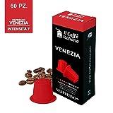 60 Kaffeekapselmaschine Kaffee Venezia verwendbar für alle Nespresso Maschinen - 60 Nespresso kompatible kaffeekapseln - 60 kaffee kapseln kaffee Venezia Nespresso - Il Caffè Italiano