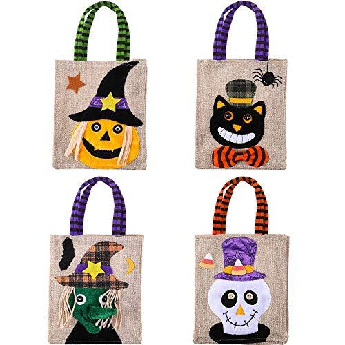 Halloween Candy Bag/Trick Oder Behandeln Süßigkeiten Tote/Kinder Halloween/Themen Party Geschenke, Vier Stile