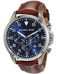 Micheal Kors Herren-Armbanduhr Chronograph Quarz Edelstahl MK8362