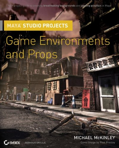 Maya Studio Projects: Game Environments and Props por Michael McKinley