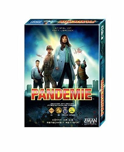 ZMan 691100 Pandemie Kooperatives Brettspiel