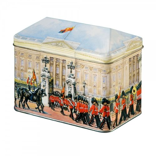 English Cream Toffees - Traditional Dairy Cream Toffees in Metal Money Box Tin ft. Buckingham Palace