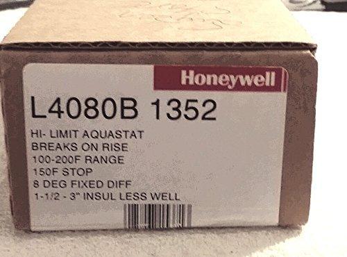 HONEYWELL HI-LIMIT AQUASTAT L4080B 1352 by Honeywell Honeywell Limit