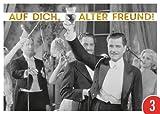 3er-Pack: Postkarte A6 +++ LUSTIG von modern times +++ AUF DICH ALTER FREUND +++ ARTCONCEPT Shutterstock/Golden Age