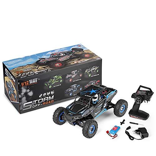 Qiulv 1/12 a distanza controllo auto via strada radio controlled blu auto 4wd 50 wd alto velocità rc da corsa mostro camion per adulto e ragazzo regalo