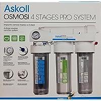 Askoll Sistema ósmosis inversa 4 Niveles Pro sistem para acuarios