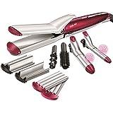 BaByliss Multistyler MS21E - Set moldeador de pelo 10 en 1 con tenacillas y planchas de