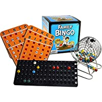Family Bingo Set with Shutter Slide Cards by Regal Games