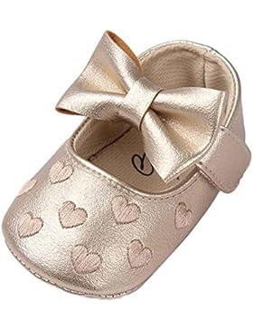 Baby Schuhe, cebbay Baby Girl Bowknots weicher Sohle PU Leder Schlupfschuhe Sneakers