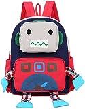 Kinder Rucksack Kindergarten Kita Rot Gurt Krippe Geschirre Leine Gurt Schule Reisen Roboter MäDchen
