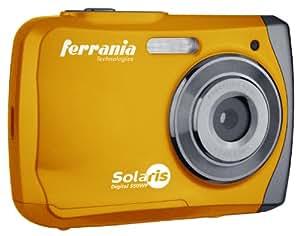 Ferrania Solaris Digital 550 Appareil photo numérique 5 Mpix étanche 3 m Orange