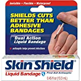 Skin Shield Liquid Bandages - 0.45 Oz by DEL PHARMACEUTICALS.