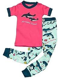 Lazy One Niã±As No Wake Zone Dolphin Niã±o Pijama ...