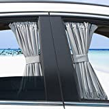 LanXi® Allgemeinen Auto Vorhang Auto Sonnenschutzrollos Sonnenschutz Webart...