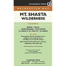 MAP Mount Shasta Wilderness Recreation