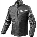 FRC010 - 0010-XL - Rev It Cyclone 2 H2O Rainwear Motorcycle Over Jacket XL Black