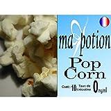 MA POTION - E-Liquide Saveur Pop Corn, Eliquide Français Ma Potion, recharge liquide pour cigarette électronique. Sans nicotine ni tabac