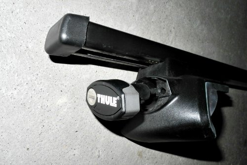 Preisvergleich Produktbild Thule Rapid Fußsatz 757 + 4-Kantrohr 761 (120 cm)