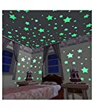 H-Store 4 Sheet Night Glow Star Galaxy For Kids Bedroom Ceiling,Galaxy Of Stars Radium Glow In The Dark Wall Sticker