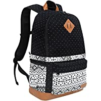 "DSLR Camera Backpack with Rain Cover Fits 15"" Laptop,Canvas Camera Bag Case Rucksack for SLR DSLR Canon Nikon Sony"