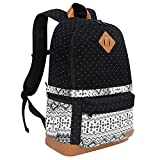 DSLR Camera Backpack with Rain Cover Fits 15' Laptop,Canvas Camera Bag Case Rucksack for SLR DSLR Canon Nikon Sony