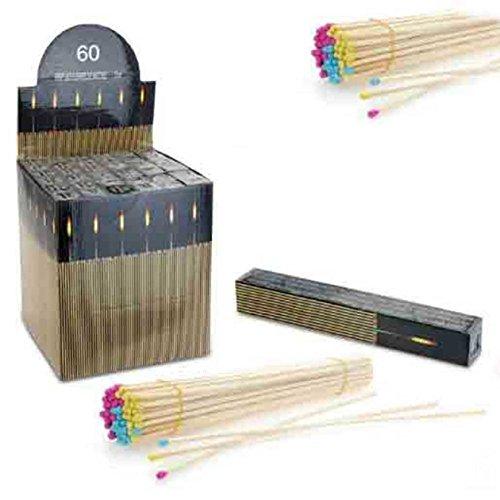 SIDCO ® 300 x extra lange Streichhölzer Kaminhölzer Kaminstreichhölzer