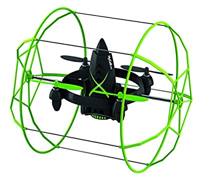 HyCell RC-Quadcopter Rocket RTF - ferngesteuerte kleine Drone zum Fliegen, Fahren & Klettern / 2.4 GHz / LiPo-Akku von HyCell