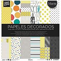 Busquets Papel Scrapbooking Marta 30,5x30,5