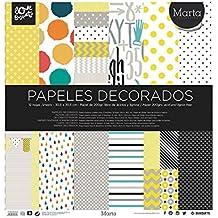 papel scrapbooking Marta 30,5x30,5