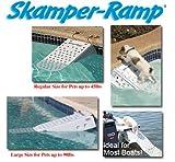 Skamper Ramp lang - sicher und stressfrei aus dem Wasser - 106 x 33 x 16 cm