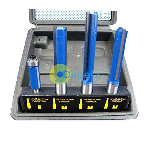 Dapetz 4Pc Tct Küche Router Arbeitsplatte Bit Set Werkzeug-Kit Schneider Laminat Arbeitsplatte