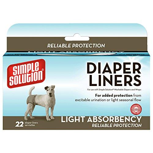 Simple Solution 10608-3p Einweg-Windeleinlagen für Hundewindeln