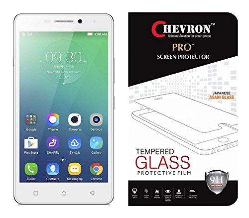 Chevron Ballistic Nano Tempered Glass Screen Protector Scratch Free Slim Guard For Lenovo Vibe P1m  available at amazon for Rs.99