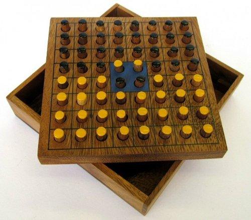 Wende-den-Stein-Strategiespiel-fr-2-Spieler-Brettspiel-aus-edlem-Holz