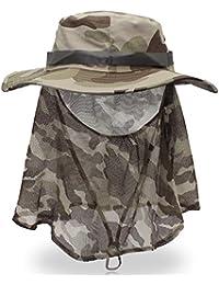 Cappelli Chunlan Berretto da Pesca Estivo Berretto da Protezione Solare Ms  Spiaggia da Uomo Uomo Berretto df51f725d31b