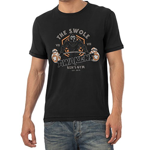 TEXLAB - The Swole - Herren T-Shirt, Größe XL, (Falcon Kinder Kostüme Muskel)