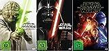 Star Wars Saga I-VI+VII (Teil 1+2+3+4+5+6+7) * DVD Set (inkl. Das Erwachen der Macht)